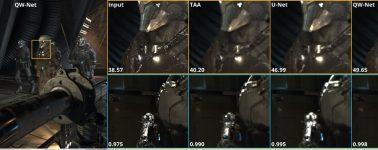 Intel y la UCSC muestran una tecnología de reescalado por IA similar al Nvidia DLSS: QW-Net