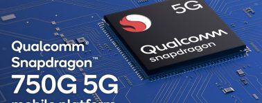 Snapdragon 750G: SoC Gaming un 20% más rápido que el Snapdragon 730G con conectividad 5G