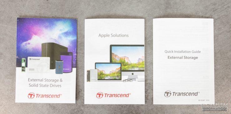 Transcend ESD250C - Documentación