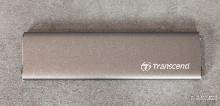 Transcend ESD250C - Vista superior