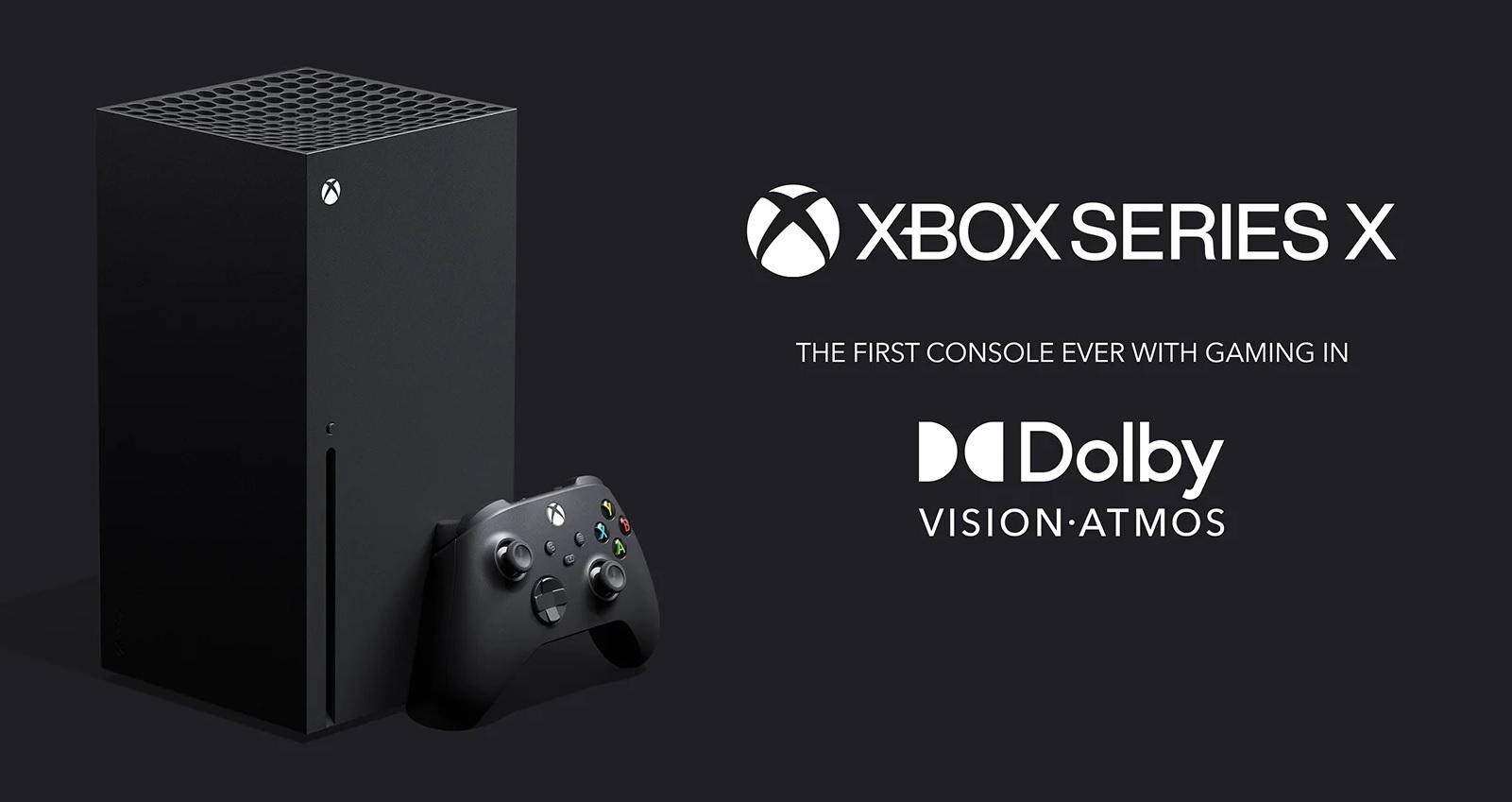 El Dolby Vision y Dolby Atmos es exclusivo de las consolas Xbox Series X|S durante dos años
