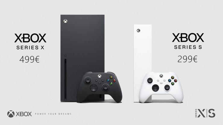 Xbox Series X vs Xbox Series S - Precio