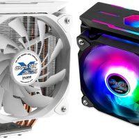 Zalman CNPS10X Optima II: Disipador CPU de 158 mm de alto con cuatro heatpipes de cobre