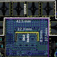 Así luce el diagrama de la GPU Intel DG2 con 3072 núcleos y 6GB de memoria GDDR6