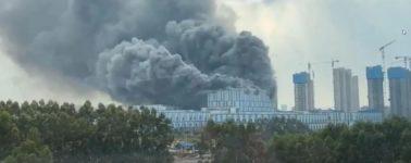 El laboratorio de investigación y desarrollo de Huawei sucumbe a un incendio