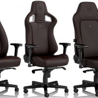 noblechairs anuncia sus sillas gaming Java Edition con tapicería híbrida transpirable