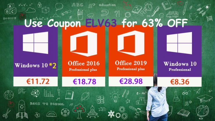 Ofertas de licencias Windows 10 y Office