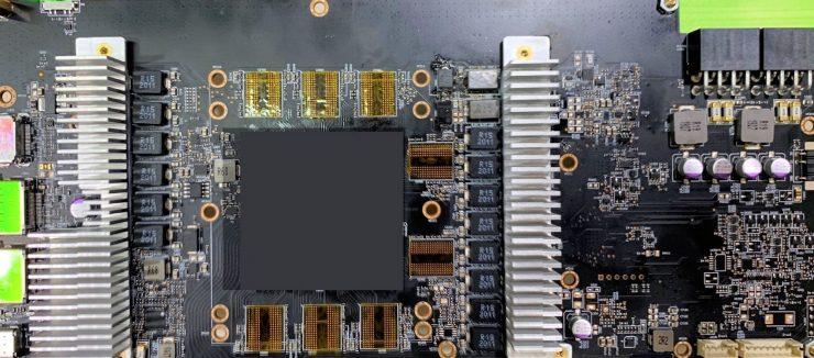 PCB de la AMD Radeon RX 6800 XT
