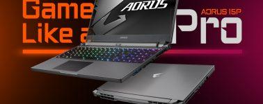 AORUS 15P: Ultrabook gaming y profesional con CPU Intel Core de 10ª Gen y GeForce RTX 2070/2060