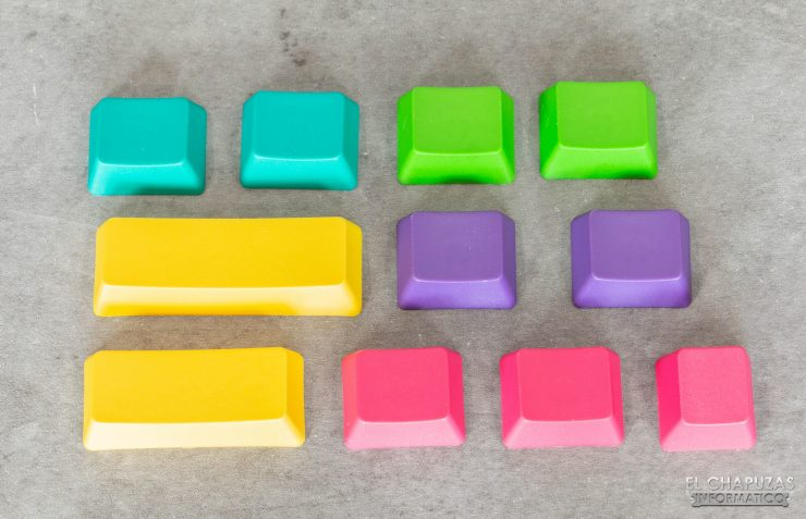 Anne Pro 2 - Teclas de colores