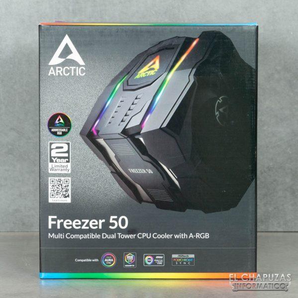 Arctic Freezer 50 - Embalaje 1