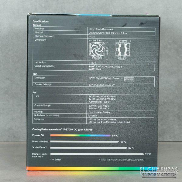 Arctic Freezer 50 - Embalaje 3