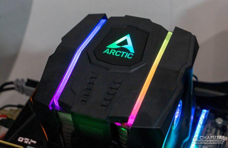 Arctic Freezer 50 - Equipo de pruebas 3