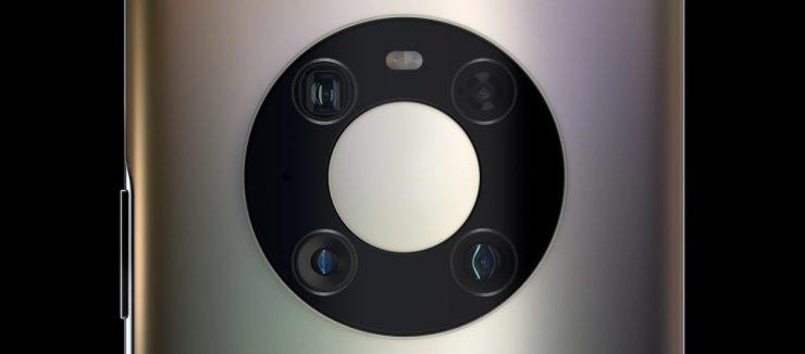 Camara del Huawei Mate 40 Pro