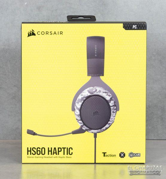 Corsair HS60 Haptic - Embalaje frontal
