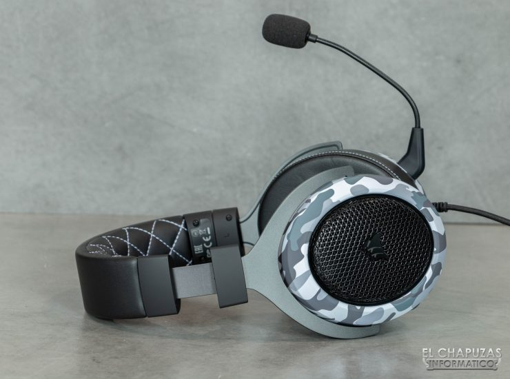 Corsair HS60 Haptic - Diadema abierta