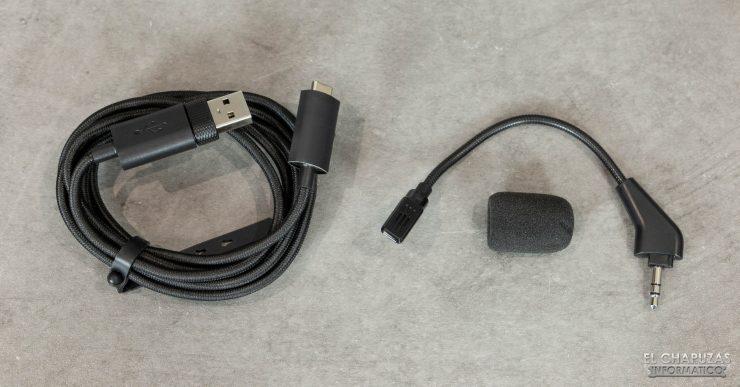 Corsair HS75 XB Wireless - Accesorios