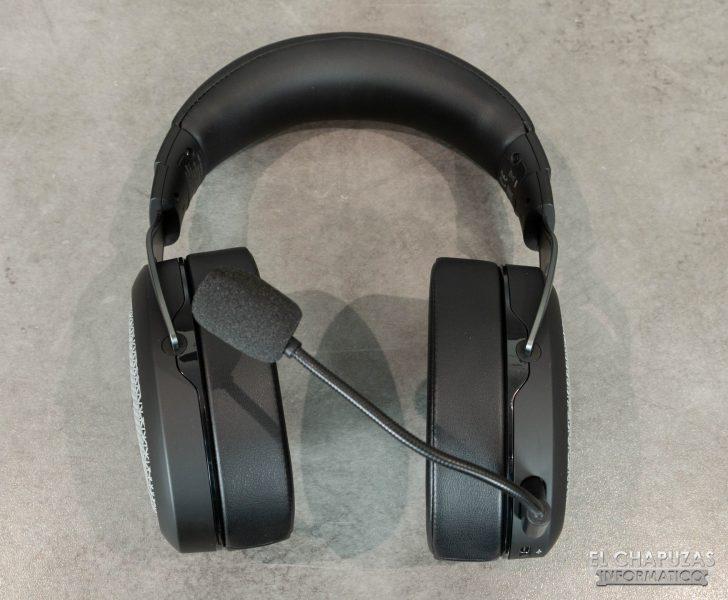 Corsair HS75 XB Wireless - Vista frontal