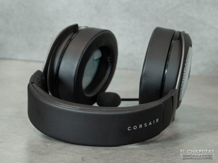 Corsair HS75 XB Wireless - Diadema exterior
