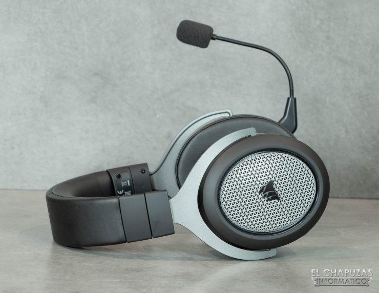 Corsair HS75 XB Wireless - Diadema cerrada