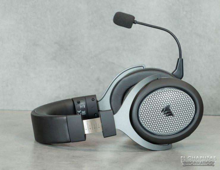 Corsair HS75 XB Wireless - Diadema abierta
