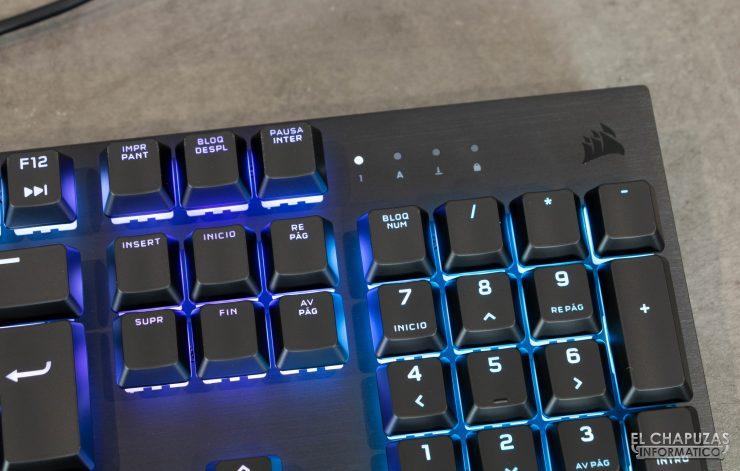 Corsair K60 RGB Pro - Detalle 3