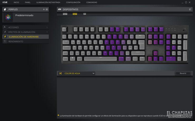 Corsair K60 RGB Pro - Software 3