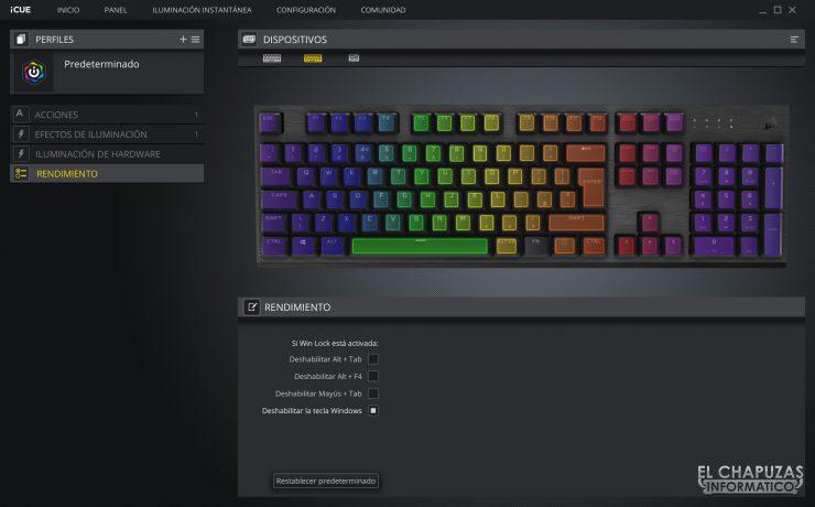 Corsair K60 RGB Pro - Software 4