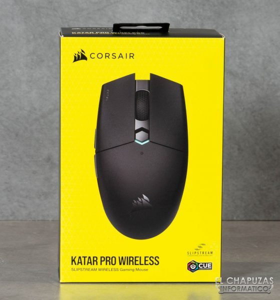 Corsair Katar Pro Wireless - Embalaje frontal