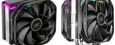 DeepCool anuncia sus disipadores CPU por aire AS500 y AS500 Plus