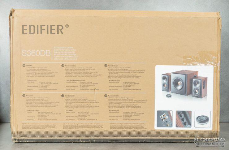 Edifier S360DB - Embalaje 2