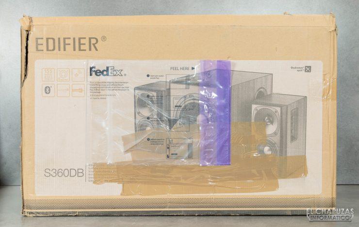 Edifier S360DB - Embalaje 1