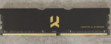 Review: GoodRam IRDM PRO DDR4 (3600 MHz – CL17)