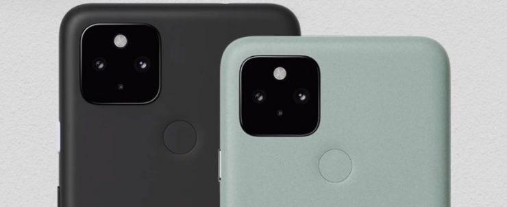 Pixel 5 y Pixel 4a 5G
