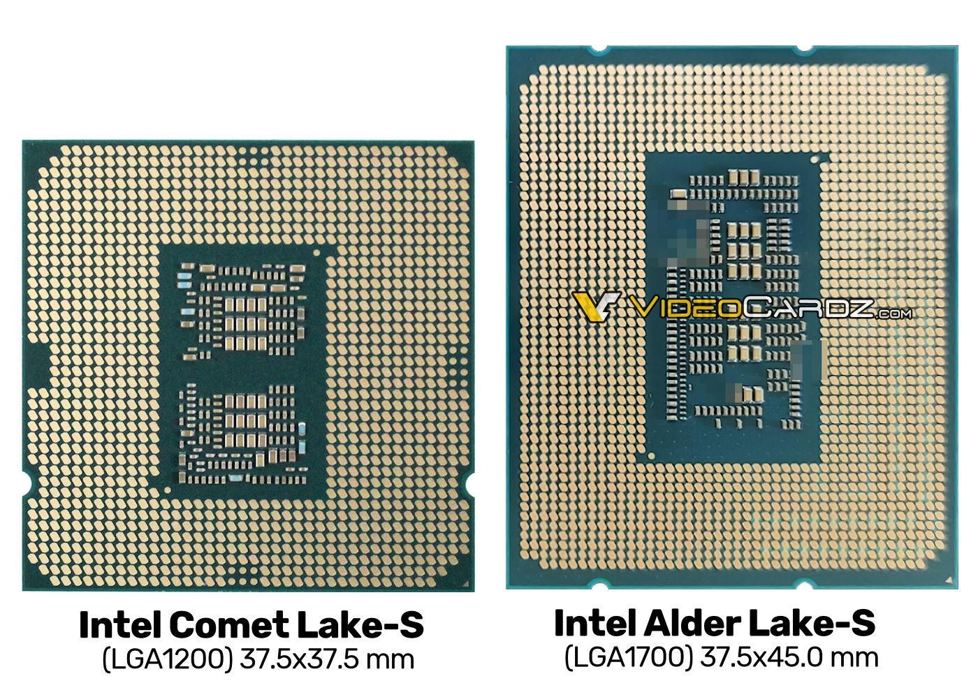 Intel Alder Lake S vs Intel Comet Lake S 0