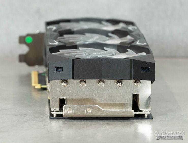 KFA2 GeForce RTX 3080 SG - Vista trasera