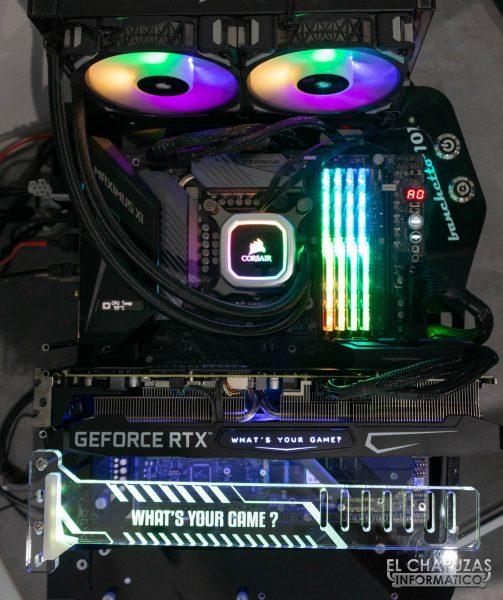 KFA2 GeForce RTX 3080 SG - Equipo de pruebas 1