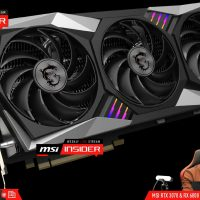 MSI muestra su Radeon RX 6800 XT Gaming X Trio