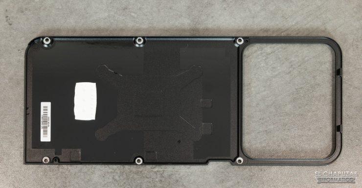Backplate de la Nvidia GeForce RTX 3070 Founders Edition