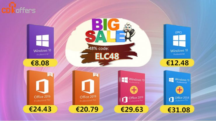Ofertas en licencias Windows 10 CDKoffers