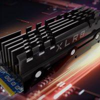 PNY XLR8 CS3040: SSD PCIe 4.0 con un generoso disipador de aluminio