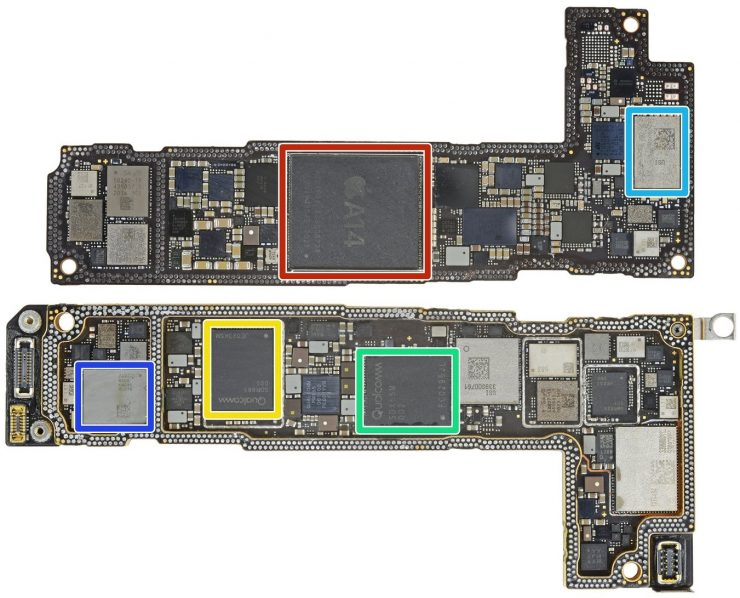 Placa Base del iPhone 12 740x598 0