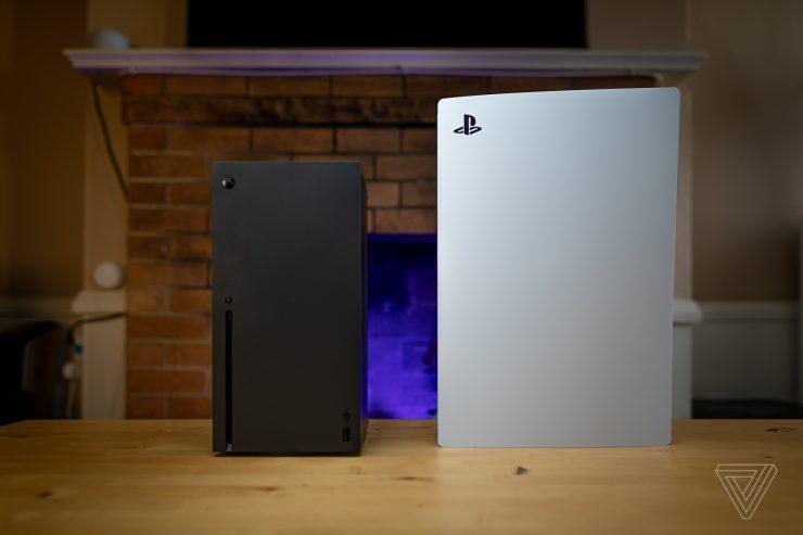 PlayStation 5 vs Xbox Series X en dimensiones