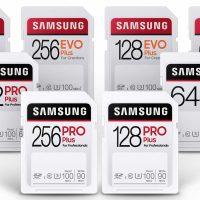 Samsung presenta sus tarjetas SD que resisten a todo: las PRO Plus y EVO Plus