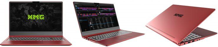 XMG DJ 15 rojo