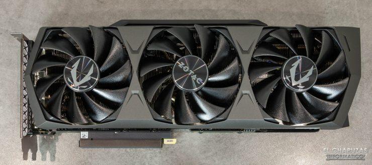 Zotac Gaming GeForce RTX 3090 Trinity - Vista superior