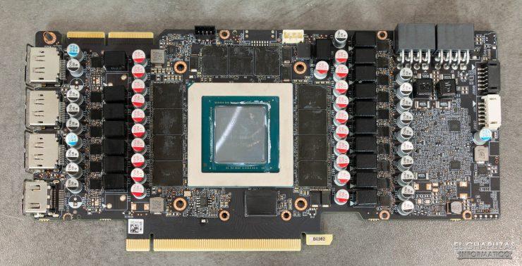 Zotac Gaming GeForce RTX 3090 Trinity - PCB frontal