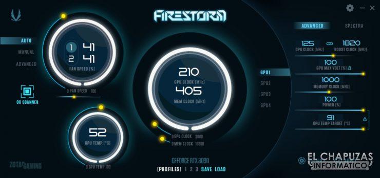 Zotac Gaming GeForce RTX 3090 Trinity - Firestorm OC