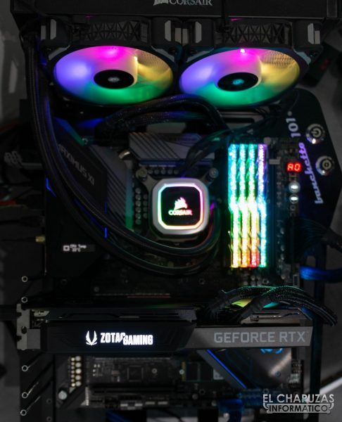 Zotac GeForce RTX 3070 Twin Edge - Equipo de pruebas 1