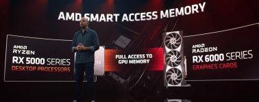 La tecnología AMD Smart Access Memory llegará a las placas base AMD 400 Series